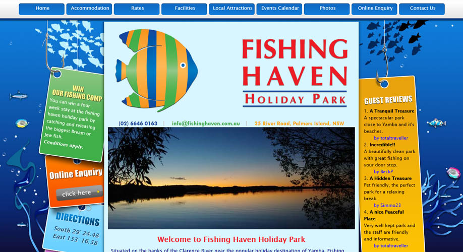 fishing haven