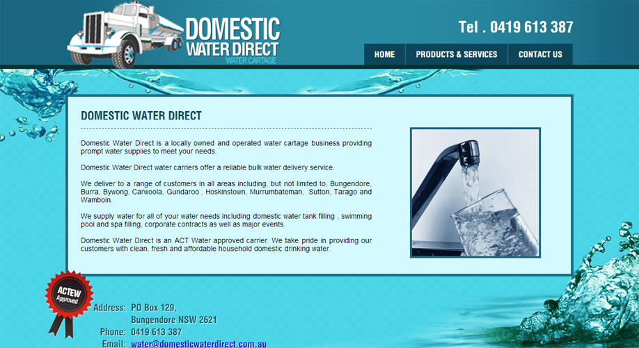 domestic water direct