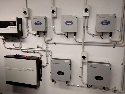 Inverters and Lithium Battery storage